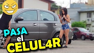 Pasa El Celular !!...😨 La Mejor BROMA