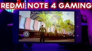 Xiaomi Redmi Note 4 Gaming Review | Gangstar Vegas, Asphalt 8