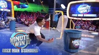 Wet Ball | Minute To Win It - Last Man Standing