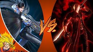 Dante VS Bayonetta | DEATH BATTLE! REACTION!!!