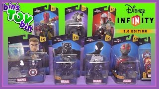 Disney Infinity 3.0 Figure Unboxing! Ant-Man, Black Panther, Baloo, & Vision! BinsToyBin