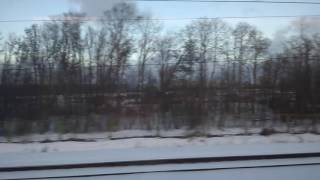 Russian high speed train 'Sapsan' St.Petersburg-Moscow