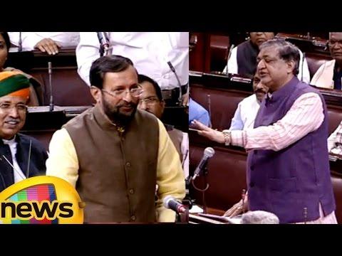 Prakash Javadekar vs Naresh Agarwal We Are Not Here For Daily Wages Says Prakash Javadekar