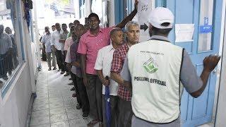 Polls open for Maldives