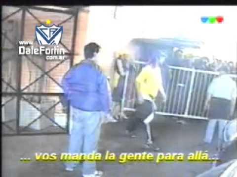 LA 12 incidentes en Velez 2006 mauro con rafa antes de traicionarlo