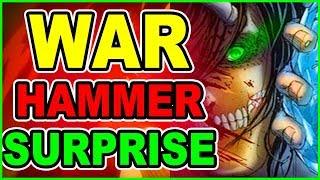 A Colossal SURPRISE! WarHammer Titan Vs Eren! Attack on Titan Chapter 104