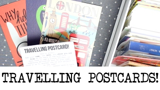 How To Send Travelling Postcards!   MyGreenCow