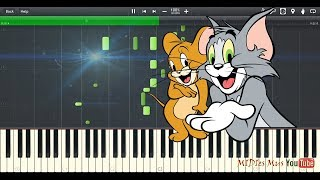 Tom And Jerry Piano Tutorial (Synthesia Cover)