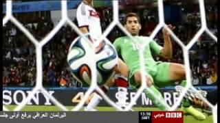 الجزائر ألمانيا   ☛  تعليق   بعد المباراة على بي بي سي العربية