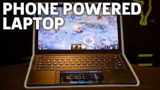 Razer Turns A Gaming Phone Into A Laptop, Project Linda Hands-on | CES 2018