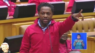 FUNNY. Malema And Ndlozi vs Home Affairs Minister Malusi Gigaba