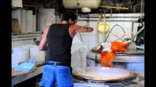 Cheese making in the Swiss Alps, Raclette cheese at the Alpage du Tronc