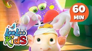 Five Little Monkeys - The Most Fun Songs for Children   LooLoo Kids