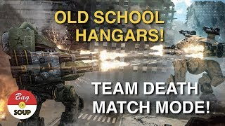 War Robots Live Stream: Team Death Match and Old School Hangars!