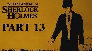 the testament of sherlock holmes [HD720p] Gameplay Walkthrough Part 13 KOREAN SUB 셜록홈즈의 유언 공략 파트 13