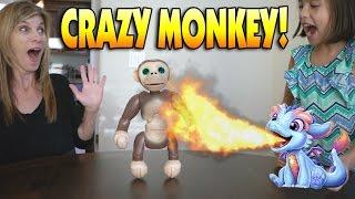 CRAZY MONKEY!!! Fun with Zoomer Chimp, Torch My Blazin