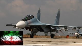 Iran and Russia to Co-Produce Sukhoi Su-30 Fighter Jet