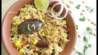 मैथी मक्का बिरयानी /Fenugreek leaves corn biryani/ Methi makka biryani in Pressure cooker #28