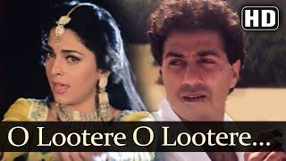 O Lootere O Lootere - Lootere Song - Sunny Deol - Juhi Chawla - Lata Mangeshkar - Manhar Udas