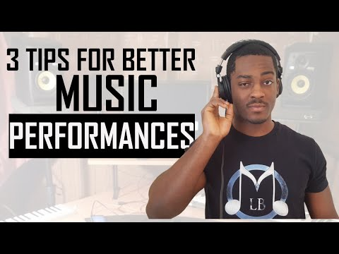 3 Amazing Tips For A Legendary Music Performance