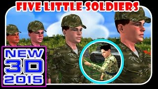 Finger Family Nursery Rhymes For Children    Soldier And Army Men Cartoons Singing