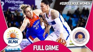 BLMA (FRA) v Mersin (TUR) - Full Game - EuroLeague Women 2016/17