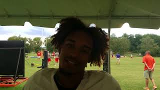 TigerNet: Amir Trapp after practice - 8.21.17