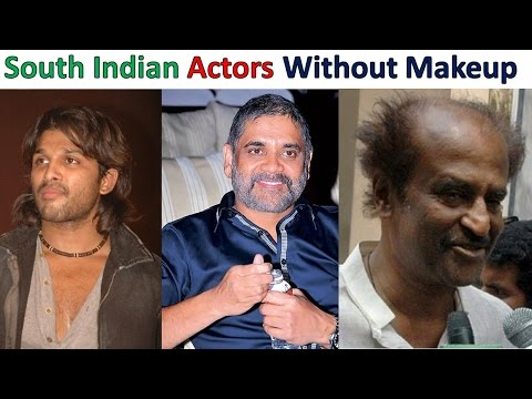 TOP (8) SOUTH INDIAN ACTORS WITHOUT MAKEUP UNBELIEVABLE