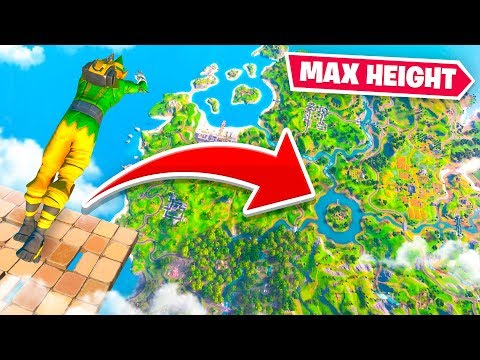 MAX HEIGHT SKYBASE DIVING in Fortnite Chapter 2