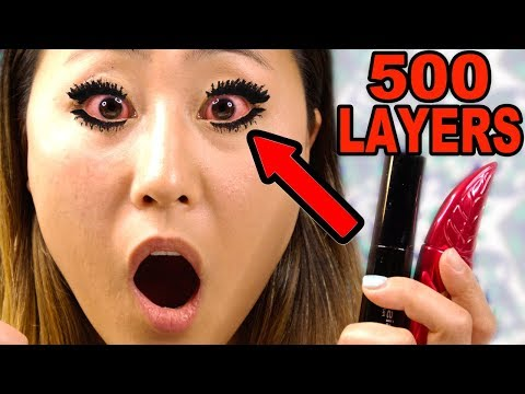 500 LAYERS OF MASCARA LIZZY S LIFE