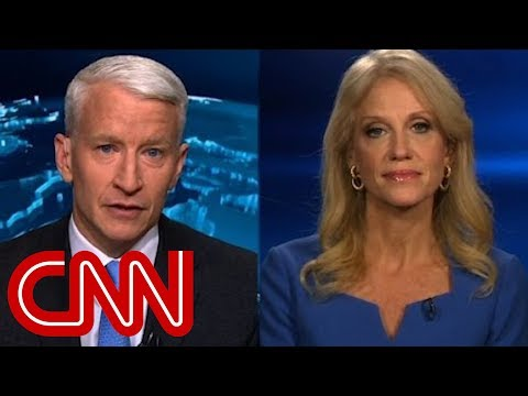 Full interview KellyAnne Conway Anderson Cooper clash over Russian intel report