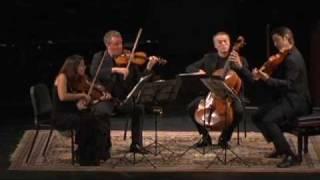 Pacifica Quartet - Mendelssohn Quartet in D Major, Op. 44 No. 1; I. Molto Allegro vivace