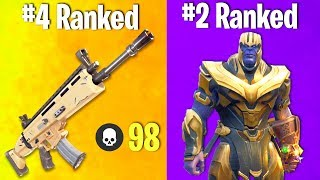 TOP 10 MOST OVER-POWERED FORTNITE WEAPONS OF ALL TIME!