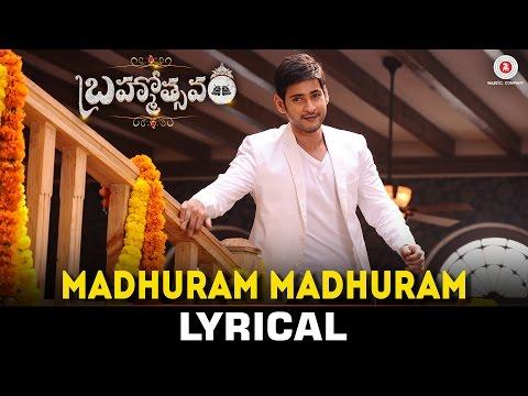 Xxx Mp4 Madhuram Madhuram Lyrical Video Mahesh Babu Samantha Kajal Brahmotsavam 3gp Sex