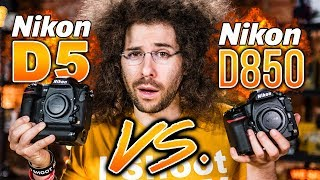 Nikon D5 VS Nikon D850 Which To Buy: The ULTIMATE Battle