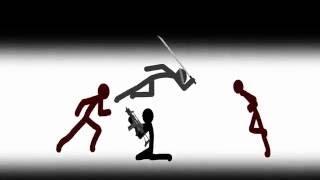 Best Fight Scenes: Stick Figure Animation Part 1