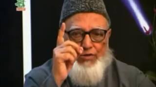আল্লাহর সাথে সম্পর্ক | অধ্যাপক গোলাম আযম | বিষয়ভিত্তিক আলোচনা