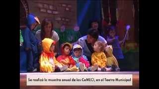 Se realizó la muestra anual de los CeMECI, en el Teatro Municipal   15 10 2014