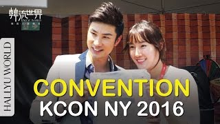 KCON 2016 NY: Hot Convention stage, Artist engagements and Korean food