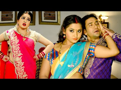 Xxx Mp4 Double Trouble Dinesh Lal Yadav Aamrapali Dubey Kajal Raghwani Bhojpuri HD Song 3gp Sex