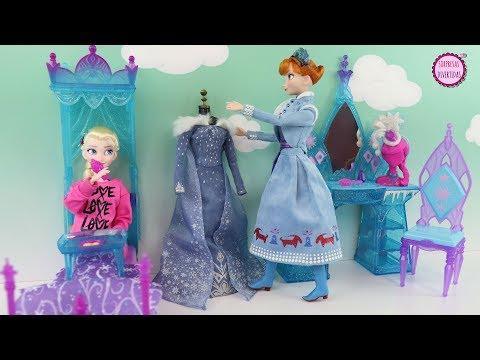 Xxx Mp4 El Dormitorio De Elsa Historia Con Muñecas Ana Y Elsa Frozen 3gp Sex