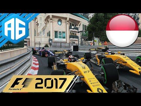 F1 2017 #26 GP DE MÔNACO - EU NÃO CONSIGO CORRER FELIZ AQUI (Português-BR)