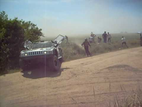 Accidente en Dakar 2009