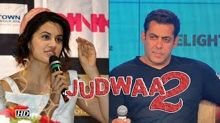 Taapsee Pannu speaks about Salman Khan in