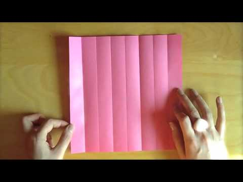 How to Make Origami Rose