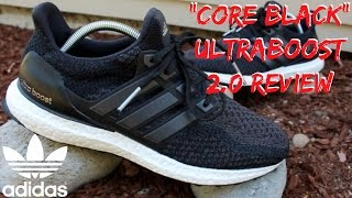 Adidas Ultra Boost 1.0 Vs 2.0 Black