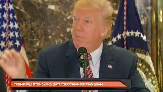 Trump puji Pyongyang batal serangan ke atas guam