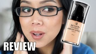 Revlon Photoready Airbrush Effect Foundation First Impression Review - itsjudytime