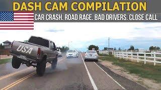 Car Crashes in America (USA & Canada) bad drivers, Road Rage 2017 # 54