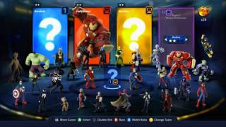 Disney Infinity 3.0 Marvel Battlegrounds Playset Versus Mode Walkthrough